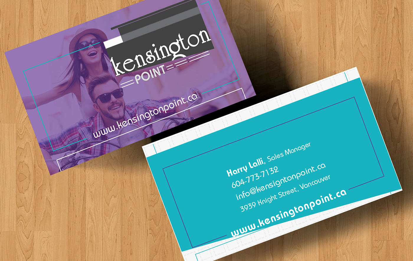 airdrie graphic design, business card design